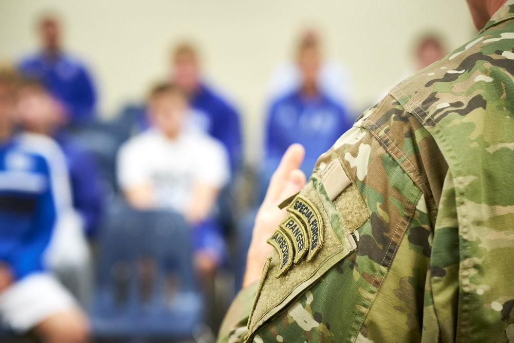 US Army SF / Green Beret - LTC Scott White - Covington Catholic Alumni