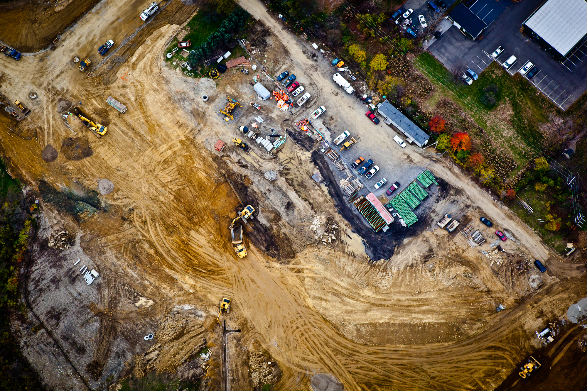 Construction Aerial Photography