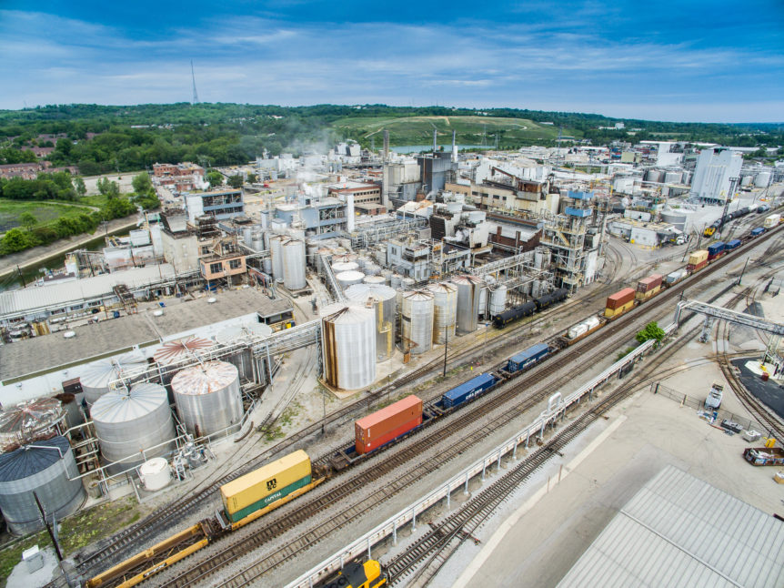 Industrial Aerial Photography